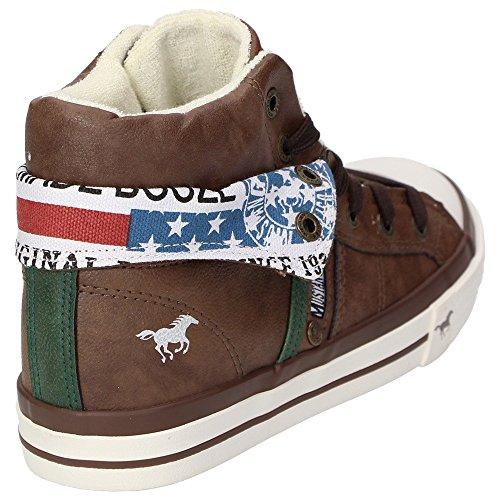 Mustang5024-501 - Zapatillas altas Niños Marrón - marrón