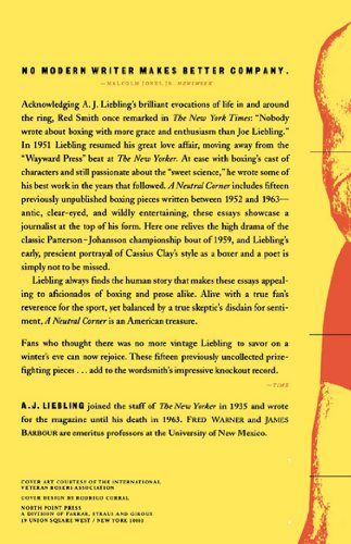 boxing essay conclusion Boxing writing at its best in this fine collection by bobby franklin springs toledo is back with another collection of essays on boxing springs toledo is back with another collection of essays on boxing.