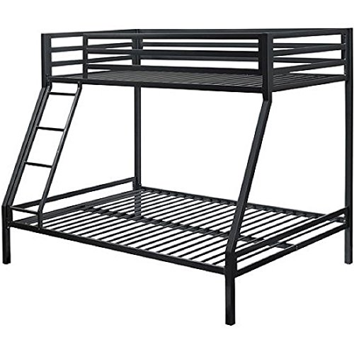 Black Premium Solid And Sturdy Metal Construction Front