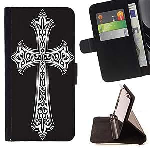 King Case - FOR Sony Xperia Z2 D6502 - life is earnest - Prima caja de la PU billetera de cuero con ranuras para tarjetas, efectivo Compartimiento desmontable y correa para la mu?eca