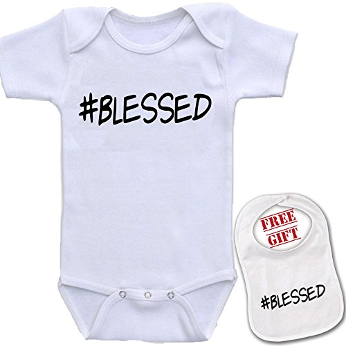 BLESSED Onesie Shower Infant Bodysuit