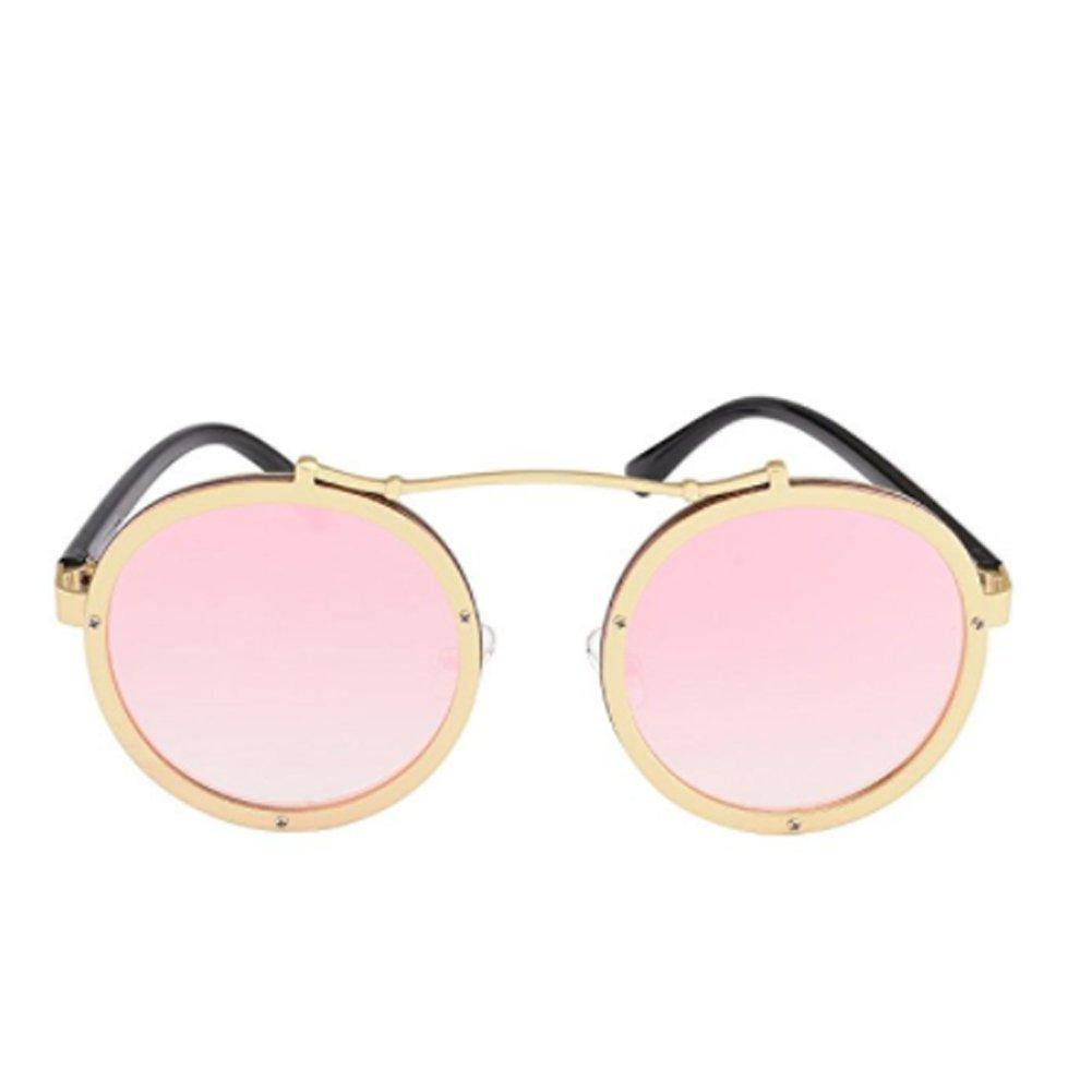 Dragon Honor Retro Round Steampunk Sunglasses Men Vintage Eyewear Accessories Women Fashion Sun Glasses