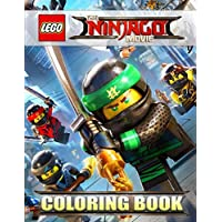 The LEGO NINJAGO Movie: Amazing Coloring Book for Kids - Unique Illustrations