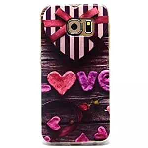 Caitin Love Gift Cell Phone Cases Cover for Samsung s6