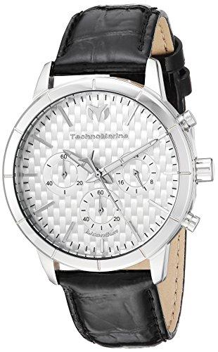 Technomarine Women's TM-117026 MoonSun Analog Display Quartz Black Watch
