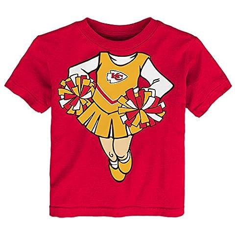 NFL Kansas City Chiefs Toddler Girls Short Sleeve