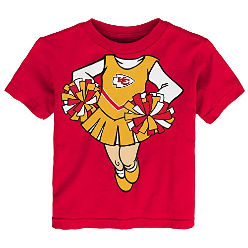 Toddler Girls Short Sleeve Cheer T-shirt