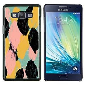 Eason Shop / Premium SLIM PC / Aliminium Casa Carcasa Funda Case Bandera Cover - Spots Pattern Acuarela Animales - For Samsung Galaxy A5 ( A5000 ) 2014 Version