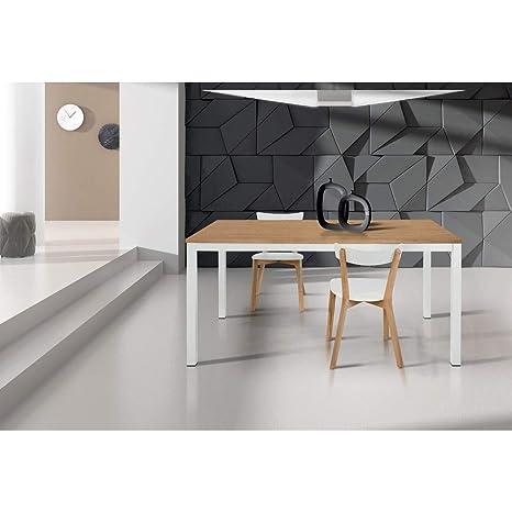 Tavolo Da Pranzo Moderno Di Design Allungabile Cm 90 X 160 ...
