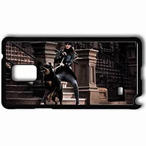 Personalized Samsung Note 4 Cell phone Case/Cover Skin Aggression Rottweiler Walk Style Chain Black by lolosakes