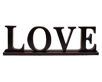 Amazon.com: YK Decor - Letra decorativa de madera para ...