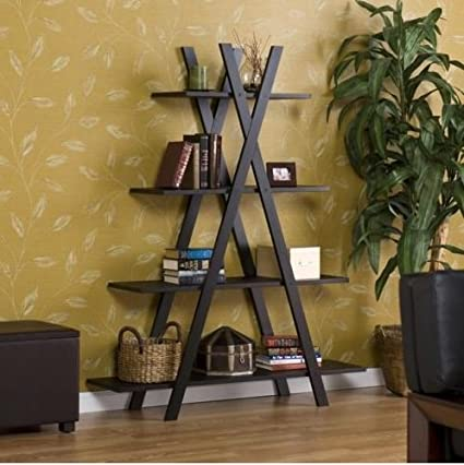 amazon com trendy book shelf great as living room or office rh amazon com
