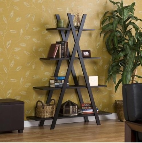 Trendy Book Shelf Great as Living Room or Office Furniture