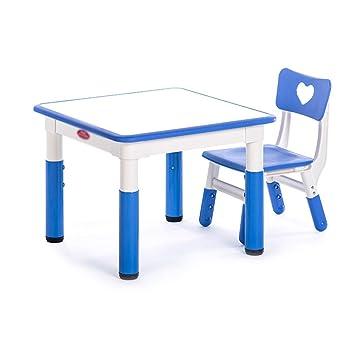 Pour Zhaohui Ensembles Chaise Et Enfants Hauteur Table Réglable 534RAjLq