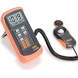 Dr.Meter Digital Illuminance/Light Meter LX1330B , 0 - 200,000 Lux Luxmeter
