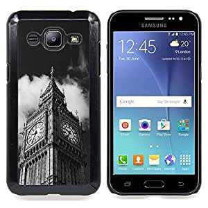 - Architecture Big Ben Close Up London/ Hard Snap On Cell Phone Case Cover - Cao - For Samsung Galaxy J2