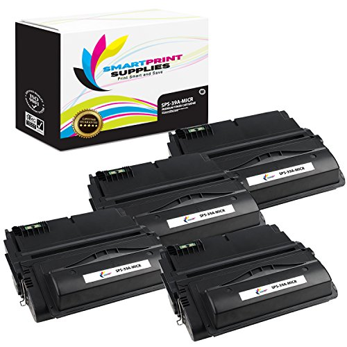 Smart Print Supplies Compatible 39A Q1339A MICR Black Toner Cartridge Replacement for HP Laserjet 4300dtns Printers (18,000 Pages) - 4 ()