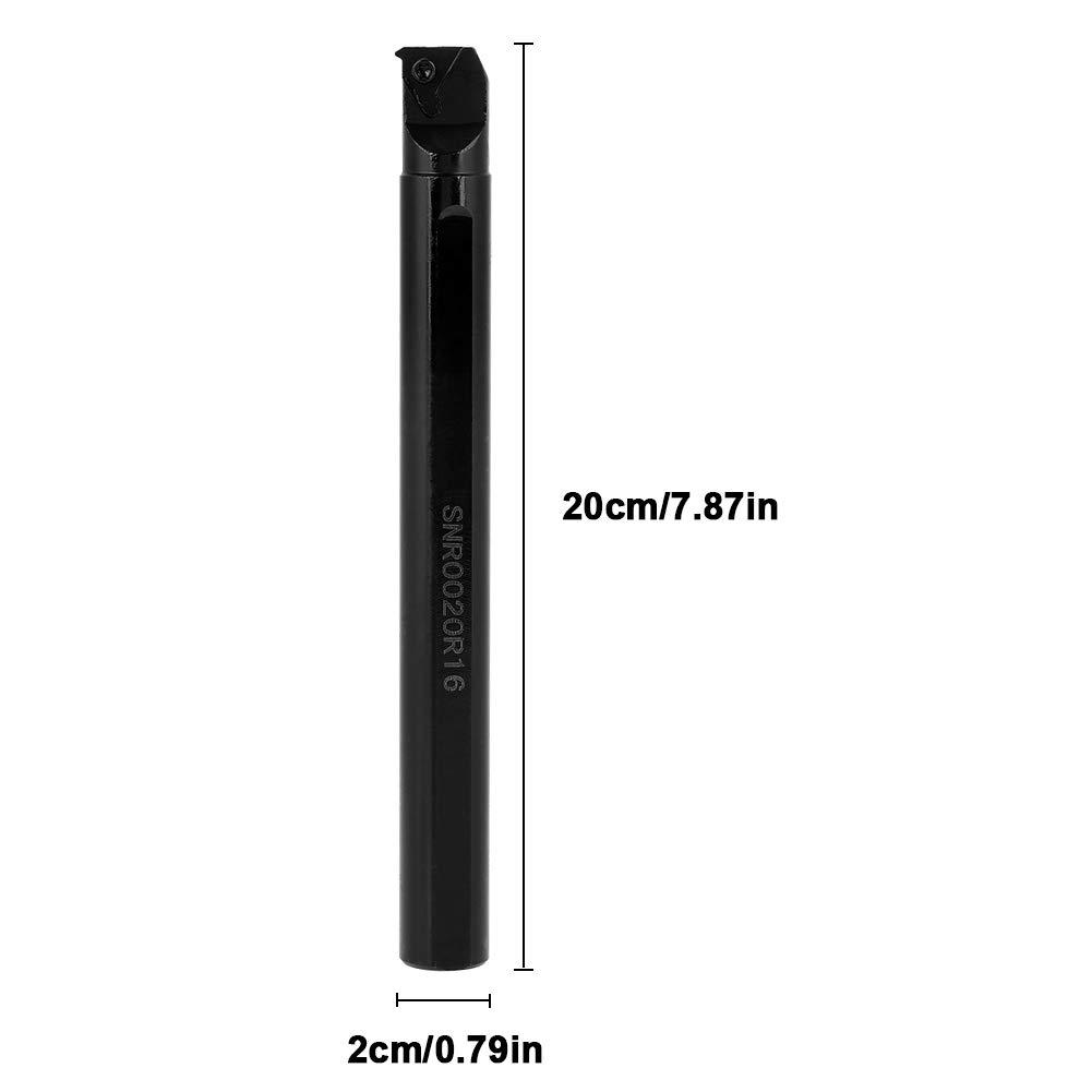 20 MM /× 200 mm llave SNR0020R16 Portaherramientas de Torneado con Rosca Interna inserto 16IR AG60