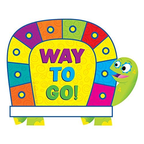 Scholastic Classroom Resources Jingle Jungle Turtle Hole-Punch Reward Tickets (SC553140)