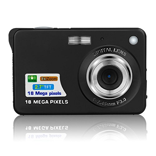 Fosa Mini Digital Camera with 2.7 Inch TFT LCD Display, 18 M