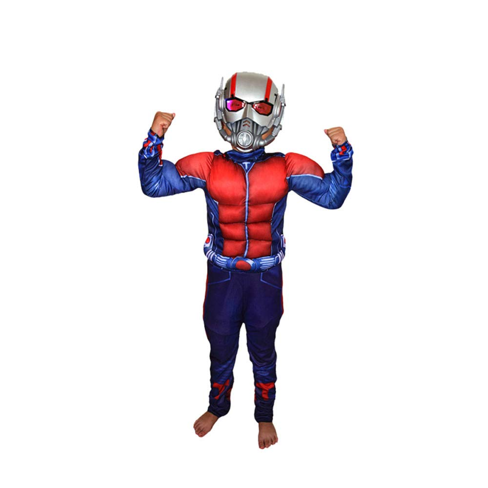 ASJUNQ COS Kleidung Kinder Captain America Iron Man Optimus Prime Grüner Riese Spiderman Kleidung Performance Kleidung Halloween,M-L B07PM5SX1M Kostüme für Kinder Ausgezeichnete Qualität | Sale Online Shop