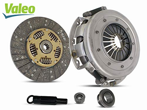 Clutch Kit With Valeo Disc works with Ford Mustang Gt Svt Cobra Lx Sedan Convertile Hatchback Coupe 2-Door 1986-1/2001 4.6L V8 5.0L V8