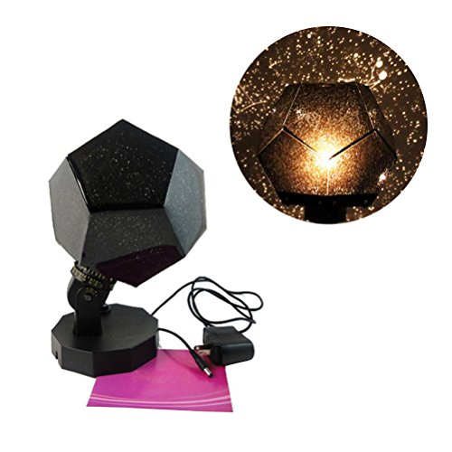 (LEDMOMO Night Light Projector Star Sky Night Lamp 3 Modes Rotation 3 LED 3 Color Starry Projection Lamp for Kid Baby Gift Home Bedroom Party Decoration)