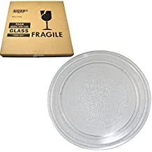 HQRP 9-5/8 inch Glass Turntable Tray for LG Goldstar 3390W1A035 MA7005ST MA7005ST MA745W MA748B MA7542B MAB745W MAK7553W MS-0723C MS-0724A MS-0744Y Microwave Oven Cooking Plate 245mm + HQRP Coaster