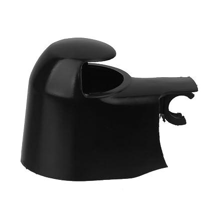 Tapa de repuesto para limpiaparabrisas trasero, color negro