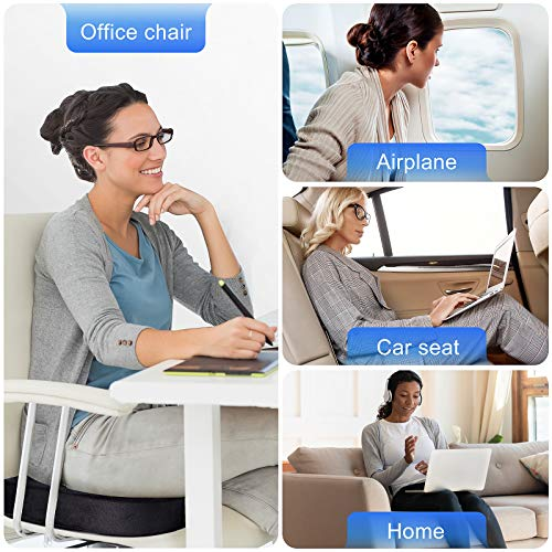 Image of WAOAW Seat Cushion for Office Chair, Chair Cushion of Memory