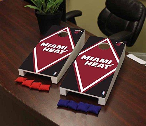 Victory Tailgate Miami Heat NBA Basketball Desktop Cornhole Game Set Diamond Version by Victory Tailgate