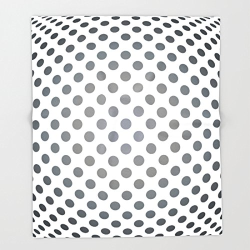 Society6 Middle distance - Optical Game 28 Throw Blankets 88'' x 104'' Blanket