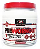 Advanced Molecular Labs Preworkout, Watermelon Flavor, 520 Grams - Train Harder, Train Longer - with 8g Citrulline Malate, 5g Creatine and 2.5g Betaine