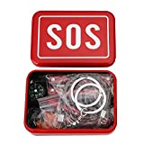Cido Outdoor Travel Portable SOS Survival Gear Emergency Equipment On-board Emergency Supplies Survival Emergency Kits