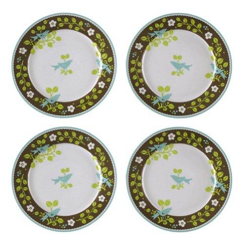 "Vera Bradley 4 Asst 8.25"" Desert Plates Home Decor Sittin..."