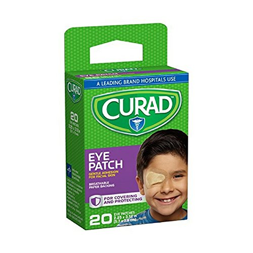 20 Eye (Curad Eye Patches Regular 20 Each (Pack of 4))