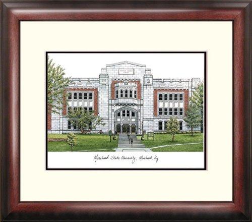 Morehead State University Alumnus Framed Lithographic Print ()