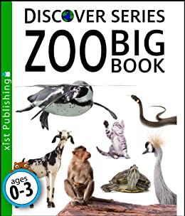 Zoo Big Book (Discover Series) by [Xist Publishing]