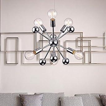 Jojospring lorena sputnik chrome finish industrial chandelier with 6 jojospring lorena sputnik chrome finish industrial chandelier with 6 lights aloadofball Image collections