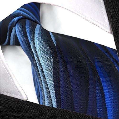 Shlax&Wing Clásico Hombre Traje De Negocios Seda Corbatas Para ...