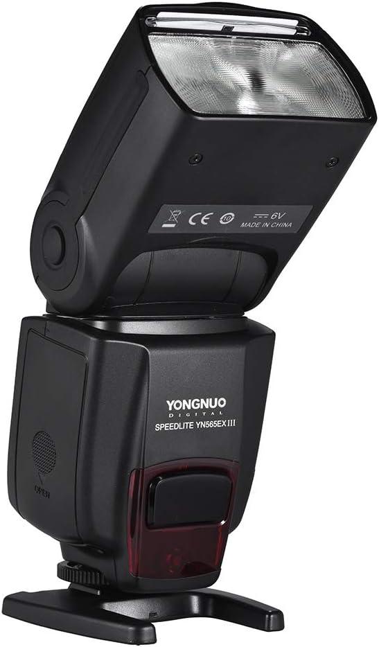 YONGNUO YN565EX III//N Wireless TTL Slave Flash Speedlite GN58 High Speed Recycling System Supports USB Firmware Upgrade for Nikon DSLR Camera