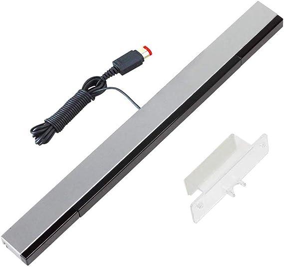 YiYunTE Sensor Bar para Wii Barra de Sensores con Cable para Juegos Barra Sensora de Movimiento Rayos Infrarrojos con Puerto USB Compatible con Wii y Wii U: Amazon.es: Electrónica