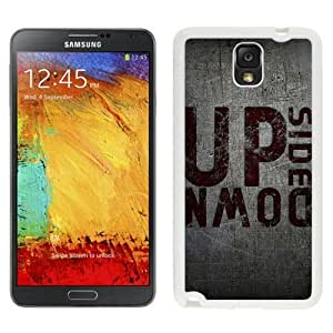 NEW Unique Custom Designed For Case HTC One M8 Cover Phone Case With Upside Down_White Phone Case
