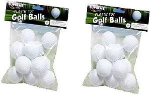 US Toy 2 Dozen Plastic Golf Balls - (24 total plastic golf balls)