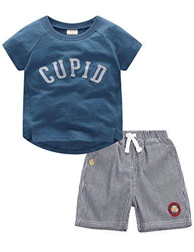 2a03e88372e5f マクスリンディー)MaxLindy パジャマ ボーイズ 子供服 赤ちゃん服 上下セット 半袖 ショートパンツ