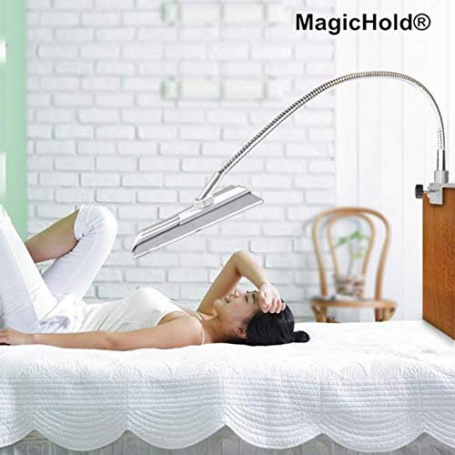 (Magichold 360º Rotating Bed Tablet Mount Holder Stand Compatible with Ipad Pro 12.9
