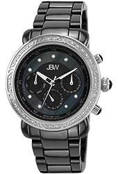 JBW Women's J6249A Ceramic Elegant Ceramic Diamond Watch