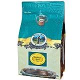 Mystic Monk Coffee: Breakfast Blend Ground Coffee (Medium Roast 100% Arabica Coffee) - 32oz