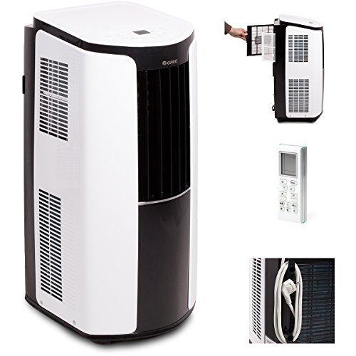 Gree Mobile Klimaanlage Shiny 12000 BTU Klima 3,5 kW a, 1 Stück, 390 x 820 x 405 mm, Weiß, GPC12AL-K3NNA1A product image