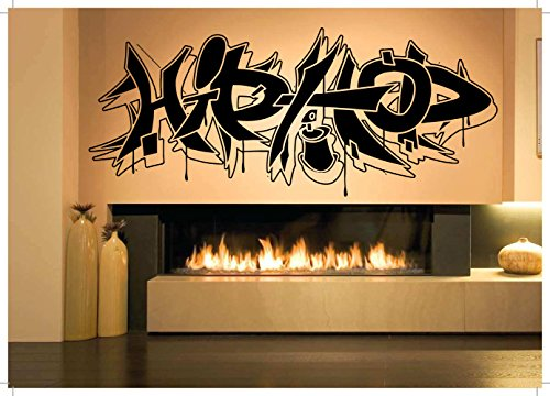 Wall Room Decor Art Vinyl Sticker Mural Decal Hip-Hop Graffiti Sign Large AS1829 (Hop Sticker Hip)